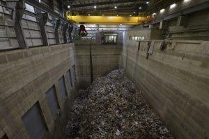 Waste bunker at Greatmoor