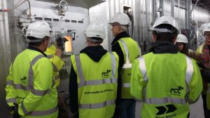 Aylesbury College visiting the grate
